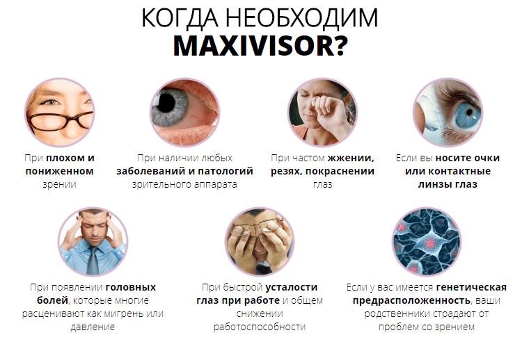 Капсулы для зрения MaxiVisor (МаксиВизор)