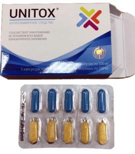 Комплекс Unitox от паразитов