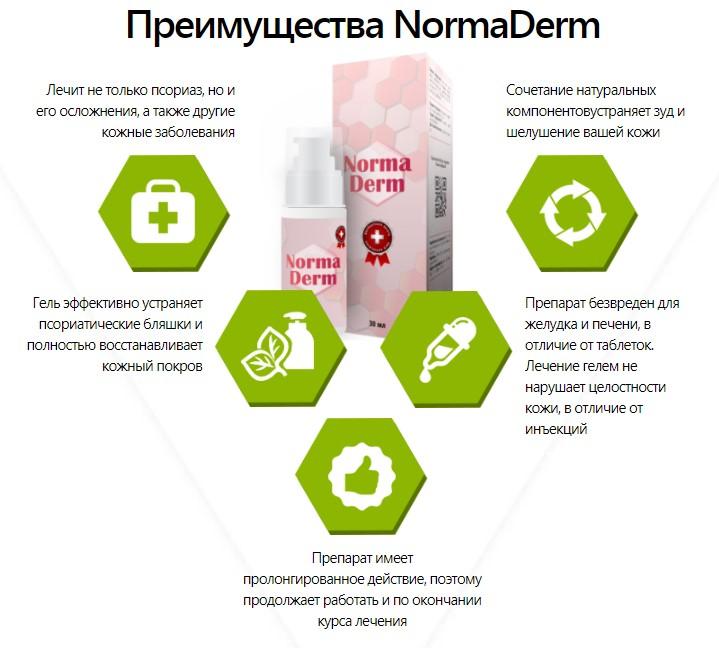 NormaDerm от грибка и псориаза в Луганске